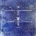 1940 Cymbal Patent Blue by Jon Neidert