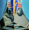 1940 Dodge Business Coupe Emblem by Jill Reger