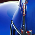 1940 Ford V8 Hood Ornament 3 by Jill Reger