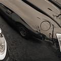 1940 Mercury Convertible Vintage Classic Car Photograph 5218.01 by M K  Miller
