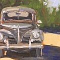 1940 Plymouth by Mary McInnis