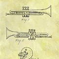 1940 Trumpet Patent by Dan Sproul