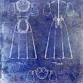1940 Waitress Uniform Patent Blue by Jon Neidert