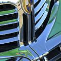 1940's Lincoln Hood Emblem by Jill Reger
