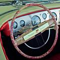 1941 Chrysler Newport Dual Cowl Phaeton Steering Wheel by Jill Reger