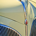 1941 Lincoln Continental Cabriolet V12 Grille by Jill Reger