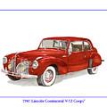 1941 Mk I Lincoln Continental by Jack Pumphrey