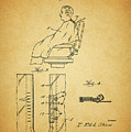 1943 Barber Apron Patent by Dan Sproul