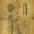 1943 Camera Flash Patent by Dan Sproul