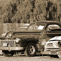 1946 Dodge In Sepia by Colleen Cornelius