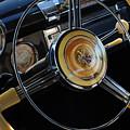 1947 Buick Eight Super Steering Wheel by Jill Reger