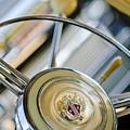 1947 Buick Roadmaster Steering Wheel by Jill Reger