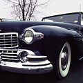 1947 Classic Lincoln Ragtop On Moody Day by Anna Lisa Yoder