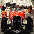 1947 Delahaye 135m Letourner Et Marchand Cabriolet by Peter Lloyd