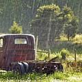 1947 Dodge Pickup Rain And Sun by Matt Taylor