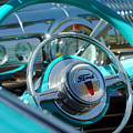 1947 Ford Deluxe Convertible Steering Wheel by Jill Reger