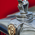 1947 Mg Tc Non-standard Hood Ornament by Jill Reger