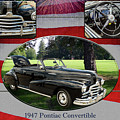 1947 Pontiac Convertible Photograph 5544.01 by M K  Miller