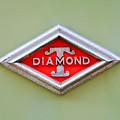 1948 Diamond T Emblem -ck0879c by Jill Reger