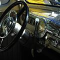 1948 Ford Super Deluxe Dash by Peter Piatt