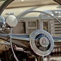1948 Plymouth Deluxe Steering Wheel by Jill Reger