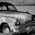 1949 Buick Eight Super I Bw by David Gordon