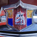 1949 Plymouth P-18 Special Deluxe Convertible Emblem by Jill Reger