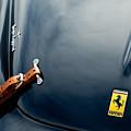 1950 Ferrari Hood Emblem by Jill Reger