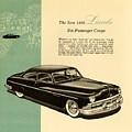1950 Lincoln 6 Passenger Coupe by Allen Beilschmidt
