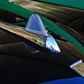 1950 Studebaker Custom Convertible Hood Ornament by Jill Reger