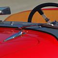 1951 Allard K2 Roadster Steering Wheel by Jill Reger