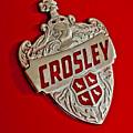 1951 Crosley Hood Emblem by Jill Reger