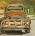 1951 Ford Truck by Mary McInnis