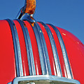 1951 Pontiac Chief Hood Ornament 2 by Jill Reger