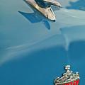 1952 Crosley Super Woody Wagon Hood Ornament by Jill Reger