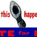 1952 Don't Let This Happen - Vote Ike by Historic Image