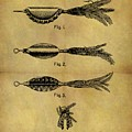 1952 Fish Lure Patent by Dan Sproul