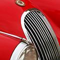 1952 Jaguar Xk 120 Grille Emblem by Jill Reger