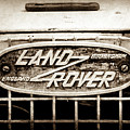 1952 Land Rover 80 Grille  Emblem -0988s2 by Jill Reger