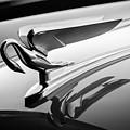 1952 Packard 200 Sedan Hood Ornament -1185bw by Jill Reger