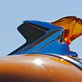 1952 Pontiac Tin Woodie Wagon Hood Ornament 2 by Jill Reger