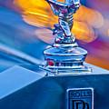 1952 Rolls-royce Silver Wraith Hood Ornament by Jill Reger