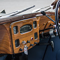 1952 Triumph Renown Limosine Instrument Panel by Robert Kinser