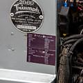 1952 Triumph Renown Limosine --- Vehicle Identification Tags by Robert Kinser