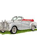 Rolls Royce Silver Dawn 1953 by Jack Pumphrey