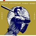 1953 Yankees Dodgers World Series Program by John Farr