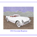 1954 Corvette Roadster by Jack Pumphrey