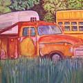 1954 Gmc Wrecker Truck by Belinda Lawson