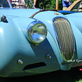1954 Jaguar Xk by Bill Ryan