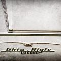 1955 Alfa Romeo 1900 Css Ghia Aigle Cabriolet Grille Emblem - Super Sprint Emblem -2266ac by Jill Reger